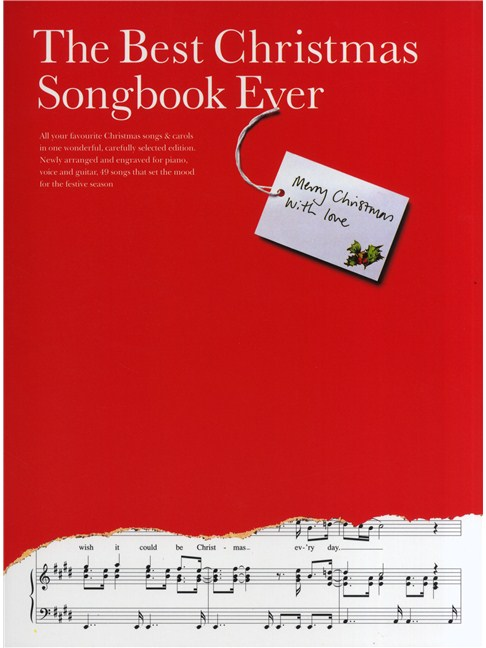 the best christmas songbook ever books piano vocal guitar with chord boxes
