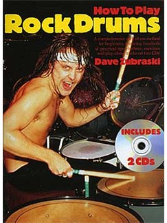 How To Play Rock Drums Books and CDs | Drums