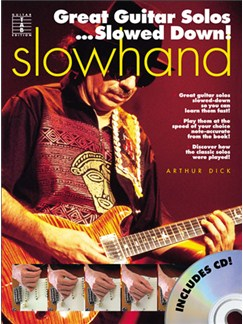 Slowhand - Great Guitar Solos...Slowed Down! Books and CDs | Guitar Tab, with chord symbols
