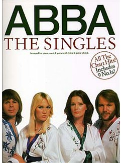 ABBA: The Singles Books | Piano and Voice, with Guitar chord boxes