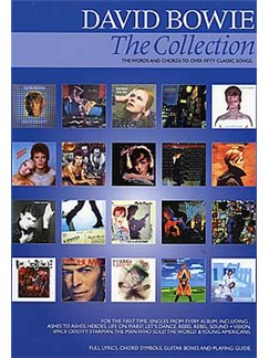 David Bowie: The Collection Books | Lyrics & Chords, with guitar chord boxes