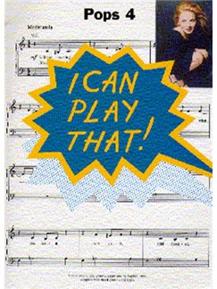 I Can Play That! Pops 4 Books | Piano, Lyrics & Chords