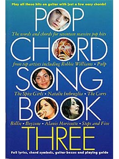 Pop Chord Songbook Three Books | Lyrics & Chords, with chord symbols