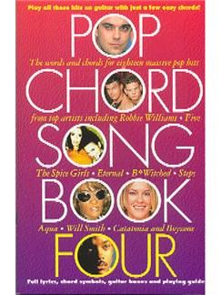 Pop Chord Songbook Four Books | Lyrics & Chords, with chord symbols