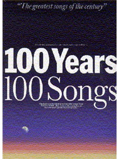 100 Years 100 Songs: Large Edition Books | Melody line & lyrics, with chord symbols