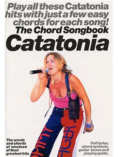 Catatonia: The Chord Songbook Books | Lyrics & Chords (with Chord Symbols)