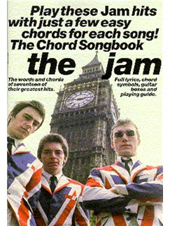 The Jam: The Chord Songbook Books | Lyrics & Chords (with Chord Boxes)