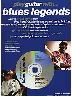 Play Guitar With... Blues Legends Books and CDs | Guitar Tab