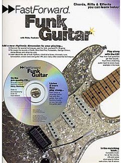 Fast Forward: Funk Guitar Books and CDs | Guitar Tab, with chord symbols