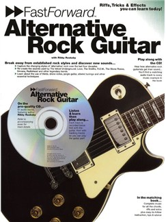 Fast Forward: Alternative Rock Guitar Books and CDs | Guitar Tab, with chord symbols