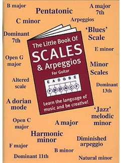 The Little Book Of Scales And Arpeggios For Guitar Books | Guitar