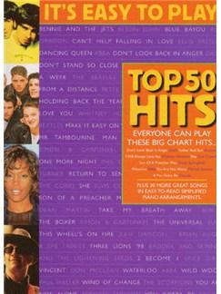 It's Easy To Play Top 50 Hits 3 Libro | Piano, Voz y Guitarra(Diagramas)