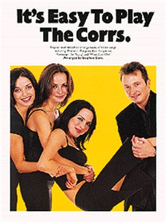 It's Easy To Play The Corrs Books | Piano and Voice, with Guitar chord symbols