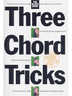 Three Chord Tricks: The Black Book Books | Lyrics & Chords (with Chord Boxes)