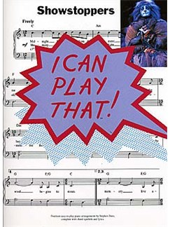 I Can Play That! Showstoppers Books | Piano, Lyrics & Chords