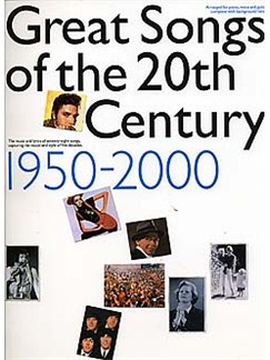 Great Songs Of The 20th Century 1950-2000 Books | Piano and Voice, with Guitar chord boxes
