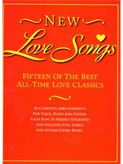 New Love Songs Books | Piano and Voice, with Guitar chord boxes