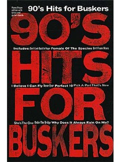 90's Hits For Buskers Books | Melody Line, Lyrics & Chords