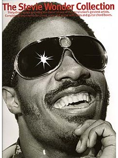 The Stevie Wonder Collection Books | Piano and Voice, with Guitar chord boxes
