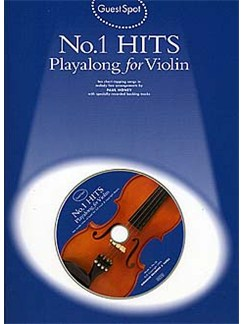 Guest Spot: No.1 Hits Playalong For Violin Books and CDs | Violin