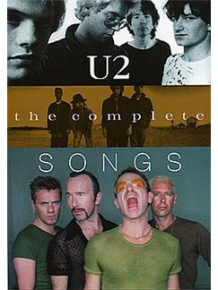 U2: The Complete Songs Books | Melody line, Lyrics & Chord, with guitar chord boxes