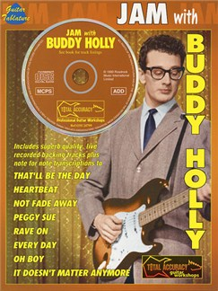 Jam With Buddy Holly Books and CDs | Guitar Tab, with chord symbols