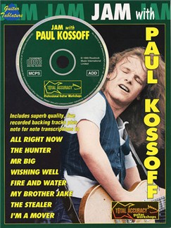 Jam With Paul Kossoff Books and CDs | Guitar Tab