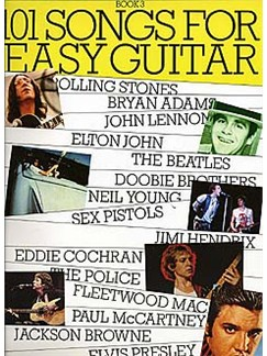 101 Songs For Easy Guitar Book 3 Books | Melody line, Lyrics & Chord, with guitar chord boxes