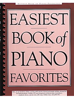 Easiest Book Of Piano Favourites Books | Piano