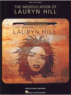 The Miseducation Of Lauryn Hill Books | Piano and  Voice, with Guitar chord boxes