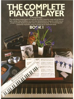 The Complete Piano Player: Book 1 Books | Piano