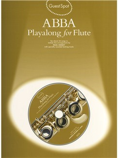 Guest Spot Abba: Playalong For Flute Books and CDs | Flute