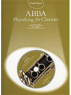 Guest Spot Abba: Playalong For Clarinet Books and CDs | Clarinet