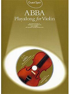 Guest Spot Abba: Playalong For Violin Books and CDs | Violin