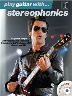 Play Guitar With... Stereophonics Books and CDs | Guitar Tab, with chord symbols
