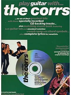 Play Guitar With... The Corrs Books and CDs | Guitar Tab, with chord symbols