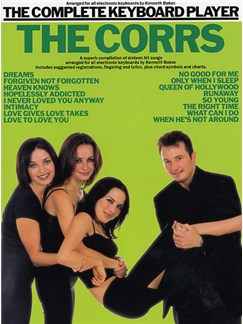 The Complete Keyboard Player: The Corrs Books | Keyboard