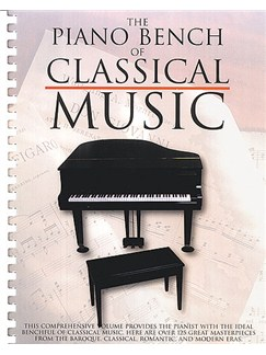 The Piano Bench Of Classical Music Books | Piano