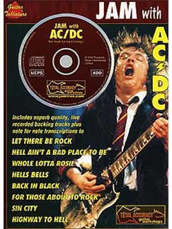 Jam With AC/DC Books and CDs | Guitar Tab (With Chord Symbols)