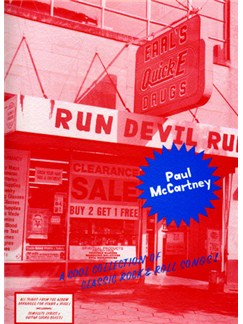 Paul McCartney: Run Devil Run Books | Piano, Vocal & Guitar (with Chord Boxes)