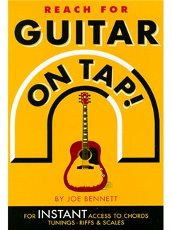 Guitar On Tap! Books | Guitar Tab, with guitar chord boxes