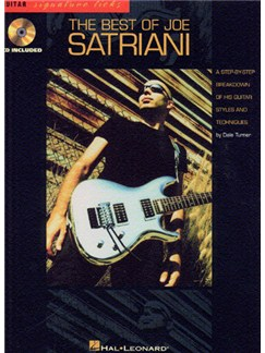 The Best Of Joe Satriani Books and CDs | Guitar Tab, with chord symbols