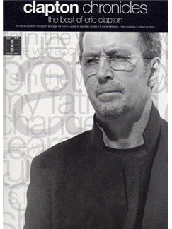 Clapton Chronicles: The Best Of Eric Clapton Books | Guitar Tab (with Chord Symbols)