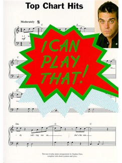 I Can Play That! Top Chart Hits Books | Piano & Vocal (with Chord Symbols)