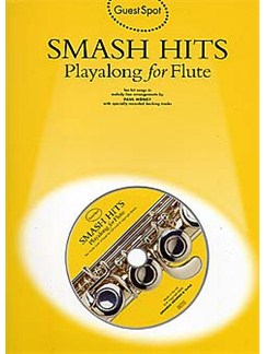 Guest Spot: Smash Hits Playalong For Flute Books and CDs | Flute