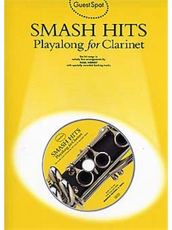 Guest Spot: Smash Hits Playalong For Clarinet Books and CDs | Clarinet
