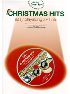 Junior Guest Spot: Christmas Hits - Easy Playalong (Flute) Books and CDs | Flute