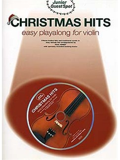 Junior Guest Spot: Christmas Hits - Easy Playalong (Violin) Books and CDs | Violin