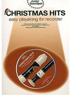 Junior Guest Spot: Christmas Hits - Easy Playalong (Recorder) Books and CDs | Soprano (Descant) Recorder