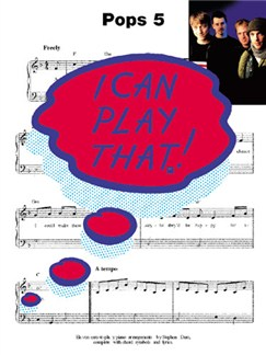 I Can Play That! Pops 5 Books | Piano, Lyrics & Chords